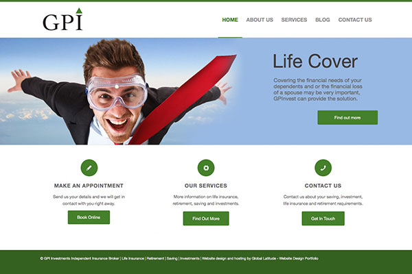 GPInvest: Independent insurance broker - Return on investment