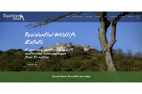 Tanglethorn Residential Wildlife Estate - Lifestyle for nature and horse lovers